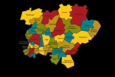 Mapa TMAD